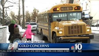 Cold Concerns for Children Headed to School