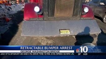 Truck Driver Arrested for Retractable Bumper