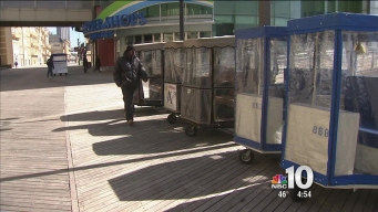 Drivers of Atlantic City's Classic Rolling Chairs Suffering