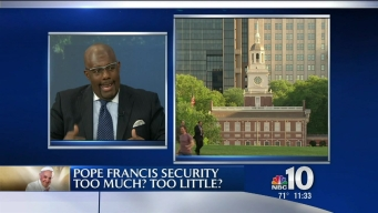 NBC10 @ ISSUE: Papal Security