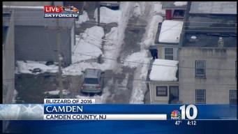 SkyForce10 Above Camden Snow Removal Efforts