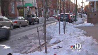 Post-Snow Cleanup Continues in Philly