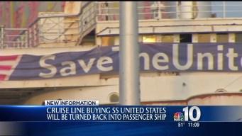 Cruise Line Buying SS United States