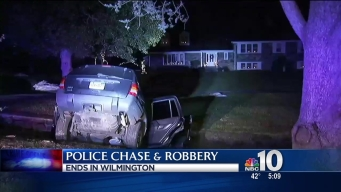 Robbery Leads to Crash After Police Chase Over State Lines