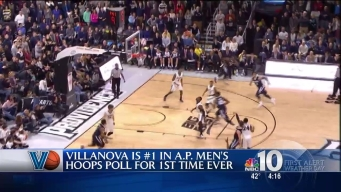 Villanova Wildcats Ranked Number One by AP