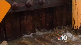Coastal Flooding During High Tides