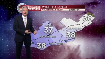 NBC10 First Alert Weather: Tracking Snow Showers