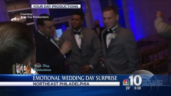 Groom Gets Big Wedding Day Surprise Thanks to His Guys