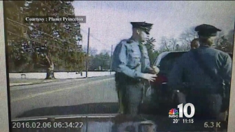 Dashcam Arrest of Princeton Professor