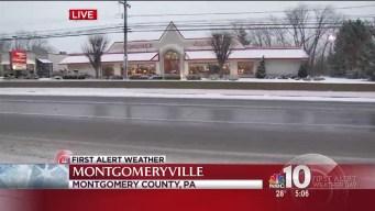 Slush Freezing Over, PennDOT Warning Drivers