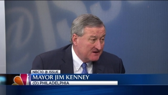 NBC10 @Issue: Special Exclusive with Mayor Jim Kenney Part 2