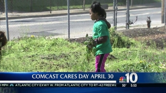 Helping Out on Comcast Cares Day