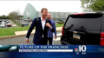 Carson Wentz Introduced as Eagles QB
