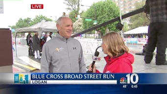 IBX CEO Daniel Hilferty Talks Blue Cross Broad Street Run