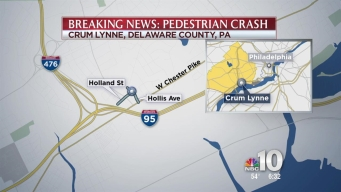 Adult and Child Struck in Crash