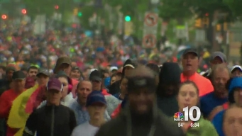 Thousands Race in 2016 Blue Cross Broad Street Run