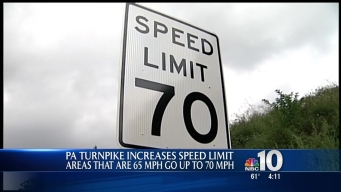 Pa. Turnpike to Increase Speed to 70 mph