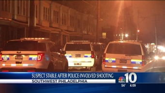 Man Shot in Leg During Police-Involved Shooting