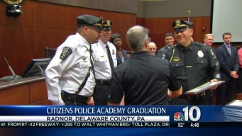 Community Members Graduate From 'Citizen's Police Academy'