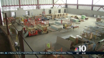 First Look at 76ers Camden Training Facility