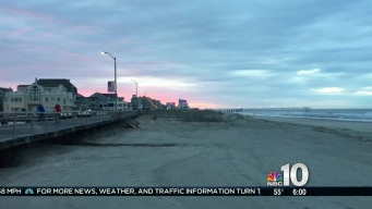 Beautiful Sunrise to Start Work Week Down the Shore