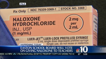 Easton School Board to Vote on Narcan