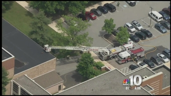 North Penn High School in Lansdale Catches Fire