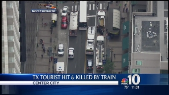 Texas Man Struck and Killed by SEPTA Train