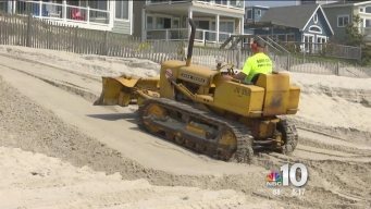 Jersey Shore Beach Replenishment Projects Underway