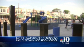 Boy Finds Gun in Book Bag at School