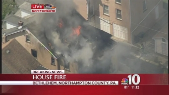 3-Alarm Fire in Bethlehem