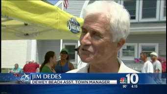 Delaware's Rehoboth Beach Prepares for a Sunny Memorial Day Weekend