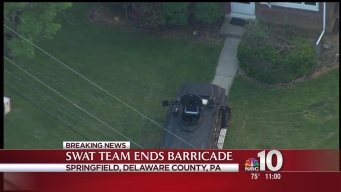Armed Barricade Causes Delaware County Lockdown