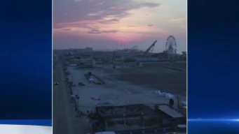 Watch: Drone's Eye View of Wildwood Sunrise