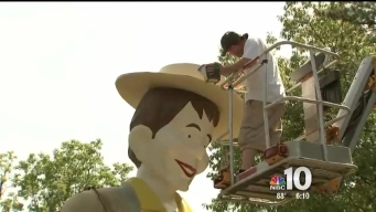 Mr. Bill's Statue Gets a Makeover