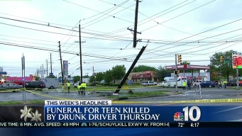 Funeral Set for NJ Teen Killed by Suspected Drunk Driver