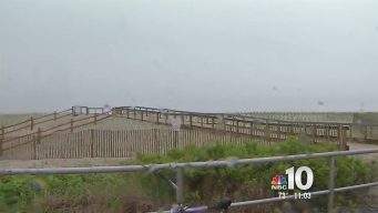 Down the Shore, Holiday Weekend Ends on a Rainy Note