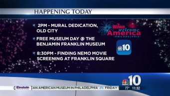 Museum Days, Pixar at the Park Kick Off Wawa Welcome America!