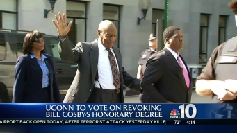 University of Connecticut to Vote on Revoking Cosby's Degree