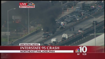 Breaking News: Multi-Car Crash on I-95 in Northeast Philadelphia