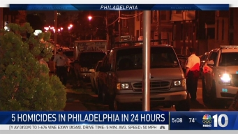 5 Killings in 24 Hours in Philly
