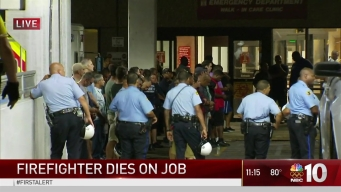 Philadelphia Firefighter Dies on the Job