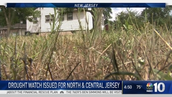 Drought Watch in New Jersey