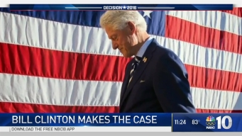 Bill Clinton Makes the Case for Hillary