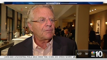 Jerry Springer Talks Donald Trump at DNC