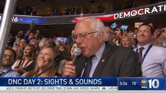 Sights & Sounds of DNC Day 2