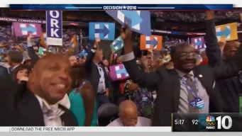 Temple Students Experience History At DNC