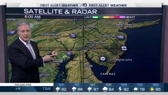 NBC10 First Alert Weather: Humid, Thunderstorm Threat