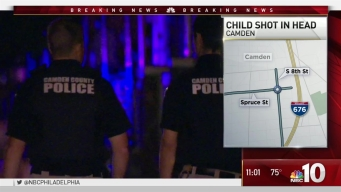 Girl Shot in Head in Camden