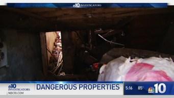 Dangerous PHA Properties